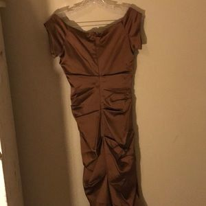 issue Dresses - Copper cocktail dress